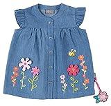 Sigikid Jeansbluse, Baby T-Shirt, Blau, 80 Bimba
