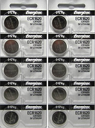 10 Energizer CR1620 Lithium Batteries Size: 10 Pack, Model: , Electronics & Accessories Store