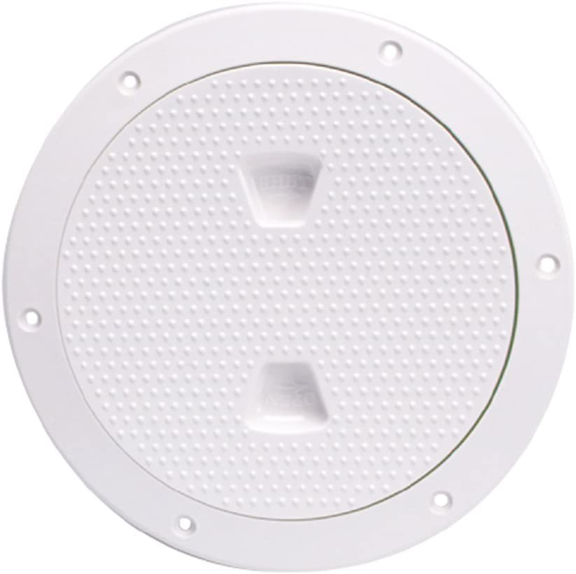 Beckson DP62-W Max 71% OFF Screw-Out Max 47% OFF Deck Plate White