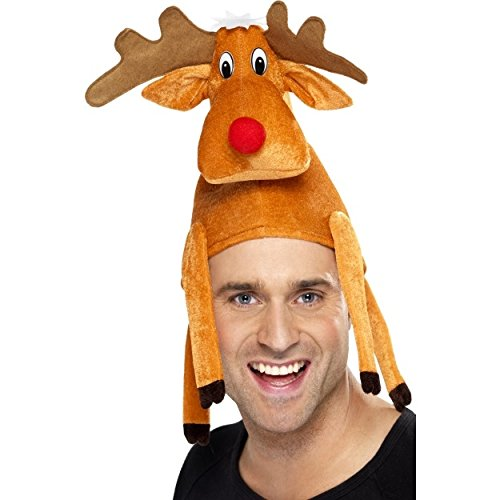 Cappello da renna, seduta sulla testa