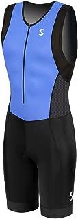 Synergy Men's Triathlon Trisuit (Indigo/Black 19, Medium)