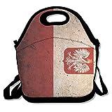 Ghf-LUNCHBAG Retro - Fiambrera con Bandera de Polonia