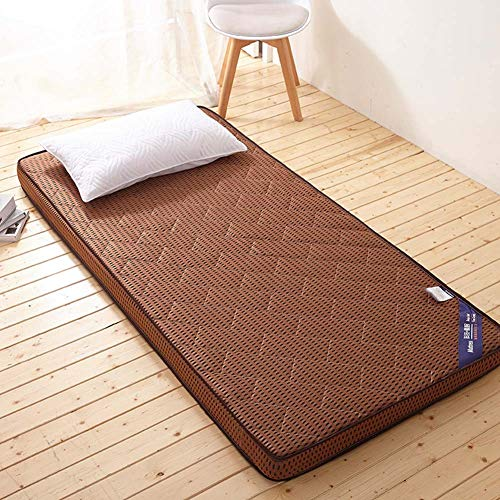 CTYfuton Premium Mattress Pad,thicken Tatami Traditional Japanese Floor Futon Mattress Mat,collapsible Soft Bed Roll Mattress Topper For Dormitory-c 120x190cm(47x75inch)
