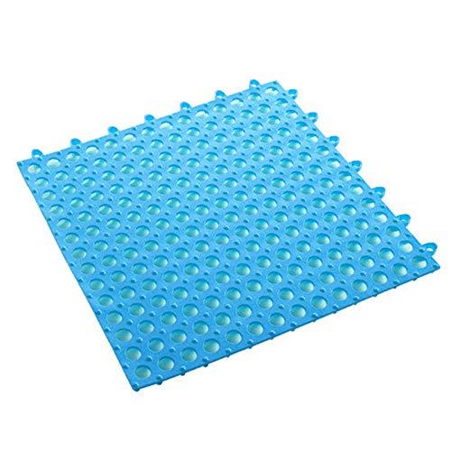 Xiaorong Zuschneidbare Matte aus weichem PVC, rutschfest, wasserdicht, für Pool, Dusche, Bad, Küche, 30 x 30 cm