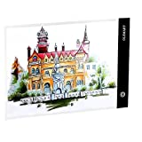 OLSMART A3 Ultra Sottile Lavagna Luminosa Disegno,Light Pad,Tavoletta Luminosa per Diamond...