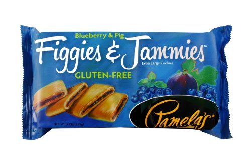 Pamela's Products Gluten Free Figgies and Jammies Cookies, Blueberry and Fig, 9 Ounce