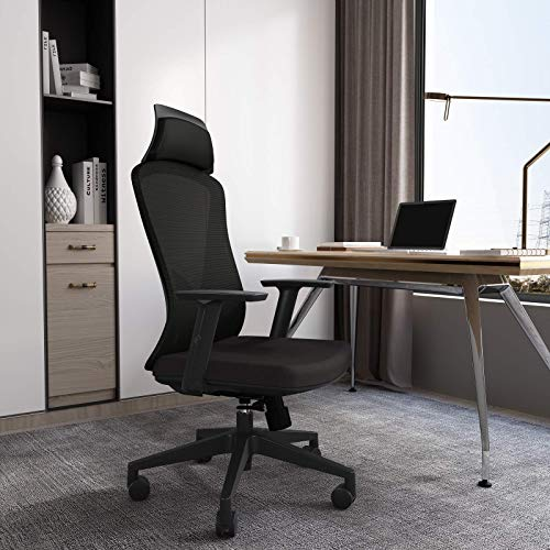 MOSUN High Back Ergonomic Office Chair - Breathable Mesh Task Chair with Lumbar...