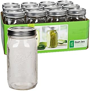 Best 1 quart wide mouth canning jars Reviews