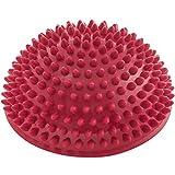 #DoYourFitness Balance-Kugel »Igel« zur Steigerung der Balance/Koordination. Ideal für Balance-Training 320g zirka 8cm hoch und 16cm Durchmesser in rot