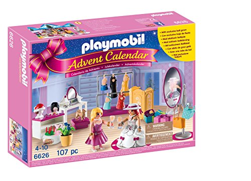 PLAYMOBIL Playmobil-6626 Calendario de Adviento Fashion, Color (6626)