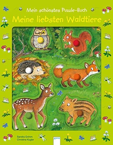 Mein schönstes Puzzle-Buch. Meine liebsten Waldtiere