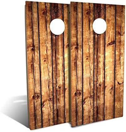 Slick OFFicial site Woodys Rustic Pallet OFFicial Backyard Set Cornhole Wood