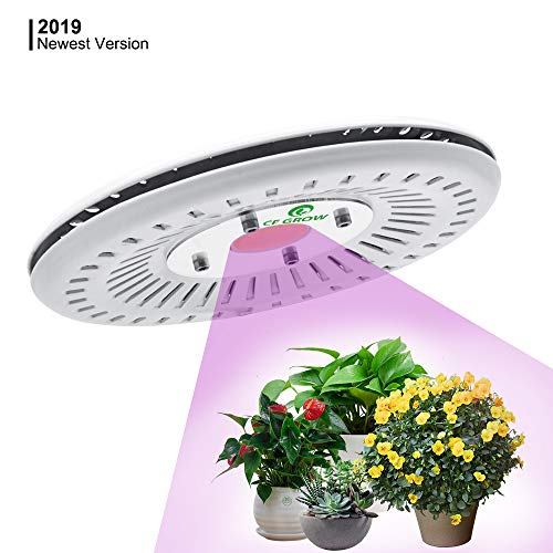 UFO LED Grow Light Full Spectrum Waterproof IP67, New Technology COB LED Grow Light, Natural Heat Dissipation Without Noise, Suitable for Plants All Growing Stage Indoor or Outdoor. (100W New)