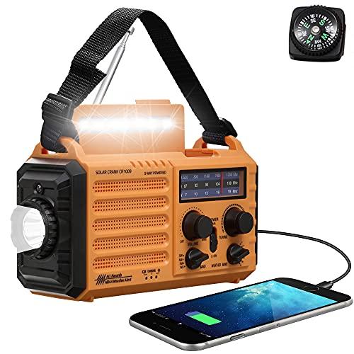 Emergency Radio with NOAA Weather Alert, Rechargeable...