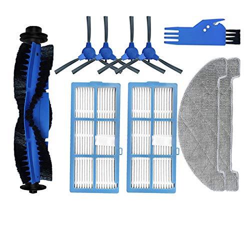 Louu Ricambio per aspirapolvere robot proscenic 850t ricambi spazzola principale filtro laterale panno hepa mop panno