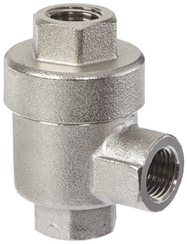 Legris 7982 14 14 Nickel-Plated Brass Quick Exhaust Valve, 1/4