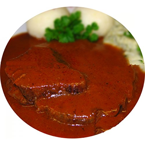 Kassler Braten in Sauce, 1 Portion