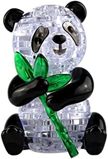 Coolplay 3D Crystal Puzzle Cute Panda Model DIY Gadget Blocks Building Toy Gift
