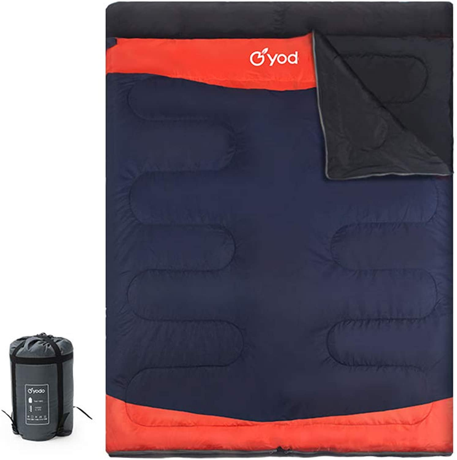 ZWY Durable,Breathable,comfortableDoppelschlaftasche, Umschlag und Outdoor Leichtgewicht Sleeping Pad 4 4 4 Season Warm Cool Weather Sleep Sack Portable Adults Traveling, Wandern Camping B07P25P6X4  Abgabepreis 0bf256