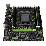 WANMEI X79G Placa base LGA 2011 DDR3 placa base E5 2620 CPU 2x4G tarjeta de memoria para In-tel
