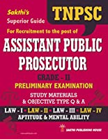Tnpsc Assistant Public Prosecutor Grade II Preliminary Exam Study Materials & Objective Type Q & A