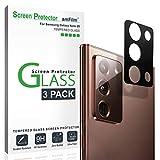 amFilm Galaxy Note 20 Protector de Cámara Trasera (3 Piezas), Protector de Cristal Templado para Lente de Cámara Trasera para Samsung Galaxy Note 20 (2020)