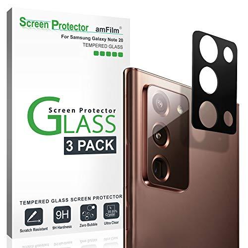 amFilm Galaxy Note 20 Kamera Schutzfolie (3 Stück), Panzerglas Displayschutzfolie für Hintere Kamera Samsung Galaxy Note 20 (2020)
