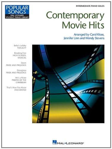 Contemporary Movie Hits: Intermediate Piano Solos