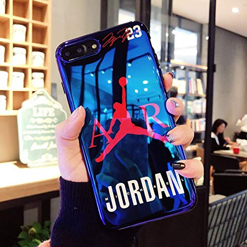 iPhone 7/8 Plus Case. Hot Fashion Fly Man Jordan 23 Blu-ray Soft ...