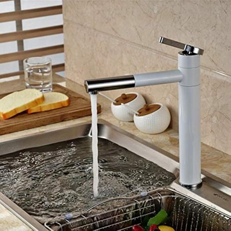 360 ° drehbarer Wasserhahn Retro Wasserhahn Spüle Wasserhahn Deck Montieren Einhand 360 Schwenkauslauf