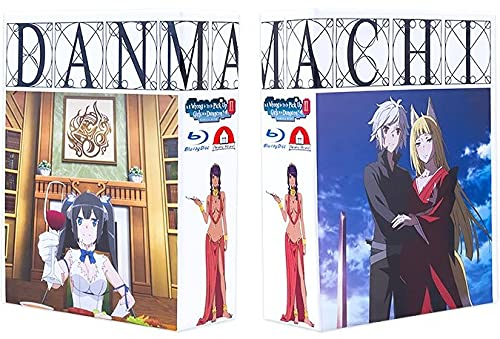 DanMachi - Is It Wrong to Try to Pick Up Girls in a Dungeon? - Staffel 2 - Gesamtausgabe - Premium Box - [Blu-ray] Limited Edition