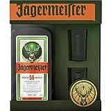 Liqueur Jägermeister 70cl 35% coffret deux verres