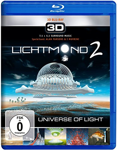 Lichtmond 2 - Universe of Light 3D [Blu-ray] [Alemania]