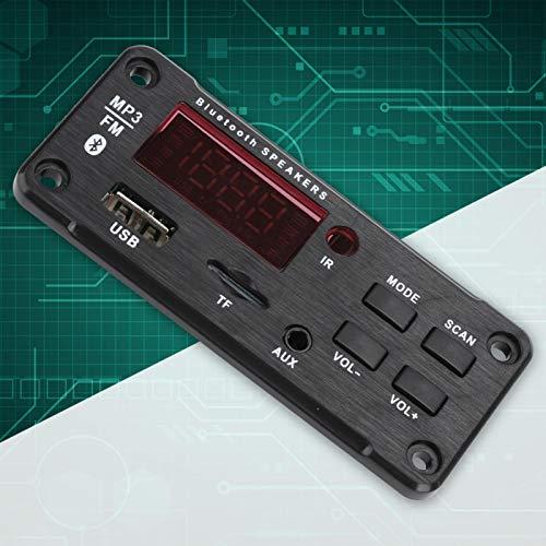 FOLOSAFENAR Módulo Bluetooth Interfaz USB Módulo de Altavoz para automóvil Bluetooth 5.0, Soporte de música MP3, Soporte de Radio FM
