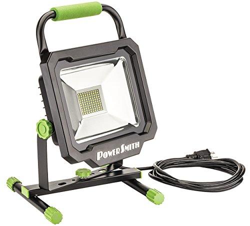 PowerSmith PWL1150BS Power Smith 50W 5000 Lumen LED Work Light, Black