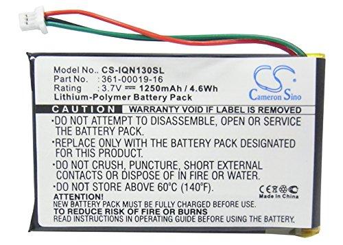 Batteria GPS per Garmin 361-00019-12 361-00019-16.Fits Garmin Nuvi 1300 Nuvi 1350 Nuvi 1350T Nuvi 1370 Nuvi 1370T Nuvi 1390 Nuvi 1390T Nuvi 1340T Pro Nuvi 1375T Nuvi 1490.