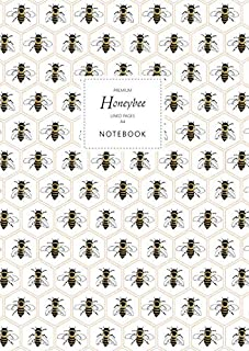 Honeybee Notebook - Lined Pages - A4 - Premium: (Honey Edition) Fun notebook 192 lined pages (A4 / 8.27x11.69 inches / 21x...