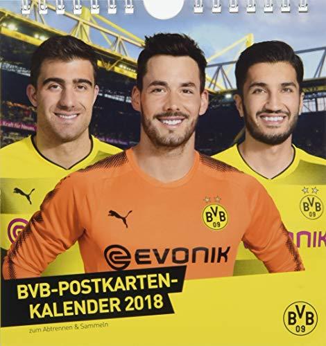 Borussia Dortmund Postkartenkalender - Kalender 2018