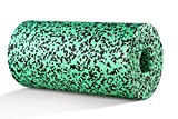 BODYMATE Faszienrolle Standard Mittel-Hart mit Gratis E-Book - Jungle-Green 30x15cm