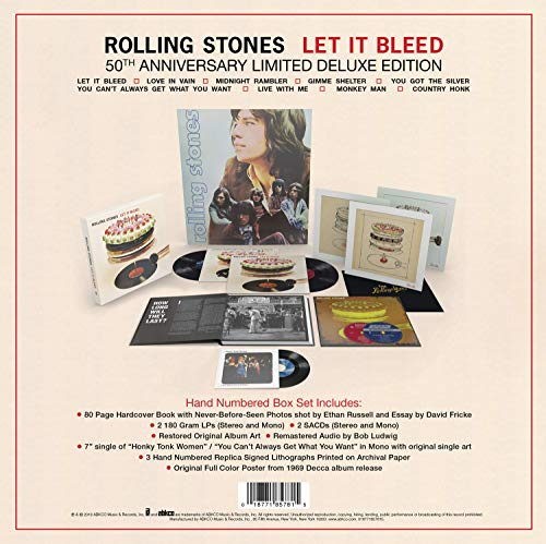 Let It Bleed - 50th Anniversary Edition (Super Deluxe) [VINYL]