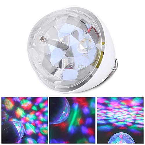 VGEBY1 Bühne Glühbirne, 3W E27 Rotierende LED Party RGB Glühbirne Bühne Strobe Lampe für Party DJ Disco KTV Home