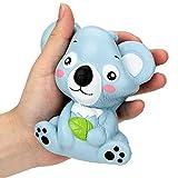 JIJK Juguetes flexibles para niños y adultos, juguetes sensoriales para aliviar el estrés, súper encanto, para niños y adultos, suministros de fiesta, oso/koala/búho/cerdo/cactus