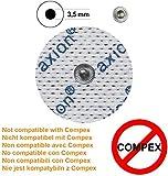 Zoom IMG-1 axion 4 elettrodi pads tondi