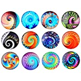 NHW 12packs Heat Cool Design Refrigerator Magnets Innovative Patterned Magnet Whiteboard and Refrigerator Magnet Refrigerator Stickers Interesting Magnet Kitchen Office Cabinet whiteboard (10)