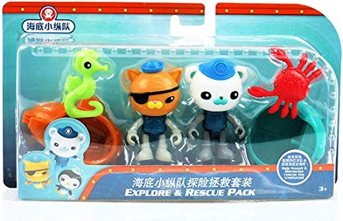 Fisher Price Octonauts Twin Figure /& Accessory Packs Set of 5