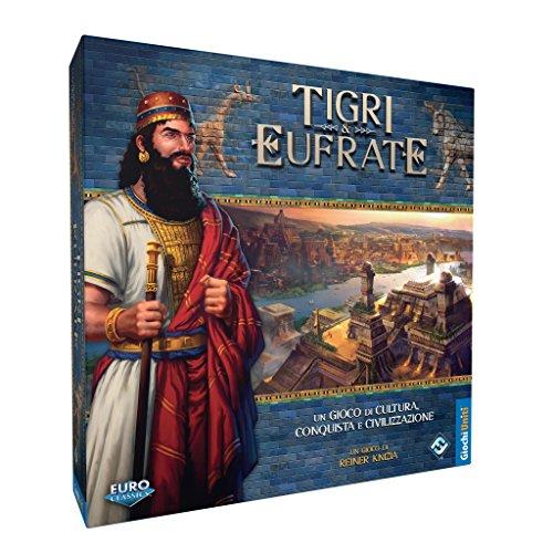 Giochi Uniti GU363 Tigri et Eufrate - Juego de Mesa