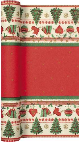 Unbekannt Tischläufer Rolle Traditional Christmas – Traditionelle Weihnachten/Airlaid/Tischband/Weihnachten 40cm x 4,90m
