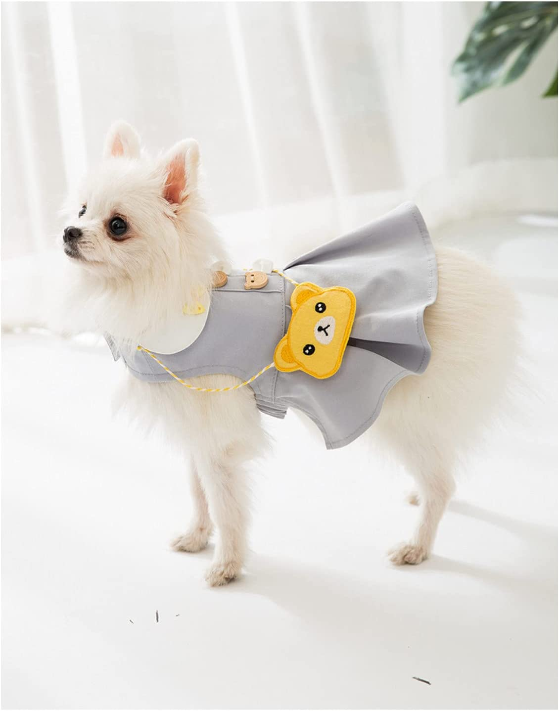 MDKAZ Clothes for Pets Dog Skirt Genuine Max 53% OFF Summer Smal Dresses