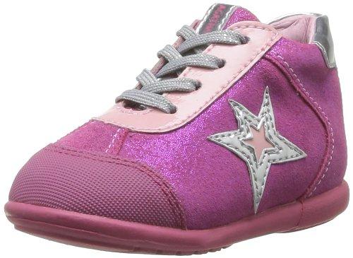 AGATHA RUIZ DE LA PRADA BABY BOWLING LACE Sneakers meisjes Fushia Hoge sneakers