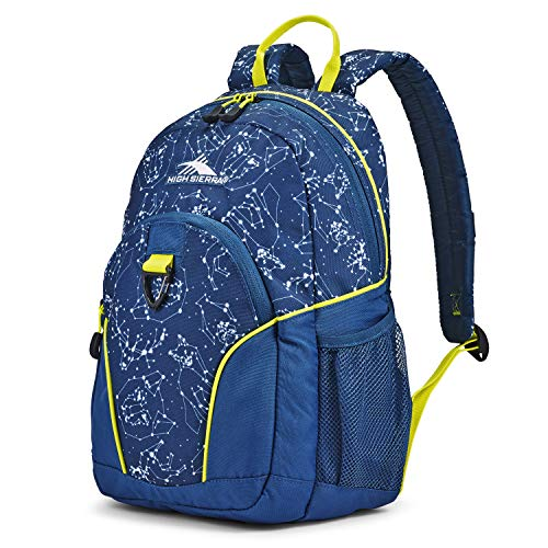 High Sierra Mini Loop Backpack Space Creatures/Rust Blue/Glow One Size